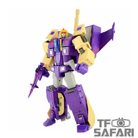 【Incoming】DX9 Toys D-08 D08 Gewalt (Blitzwing) 24cm / 9.5""