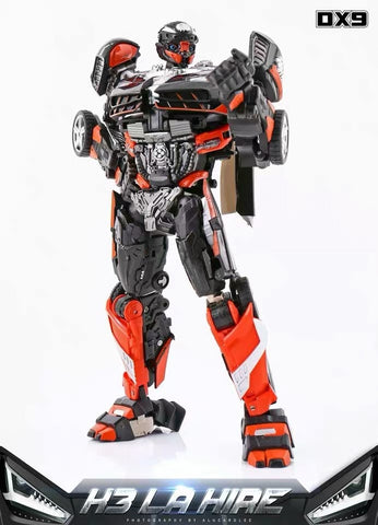 DX9 Toys K-3 K3 La Hire (Hot Rod Rodimus) 24cm