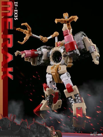 "Iron Factory IF EX-35 EX35 Merak (Kaon DJD) Spirits of The ""D.E.C"" Ironfactory 15cm / 6"""