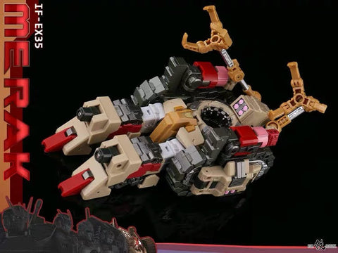 "[Pre-Order] Iron Factory IF EX-35 EX35 Merak( Kaon DJD) Spirits of The ""D.E.C"" Ironfactory 15cm / 6"""