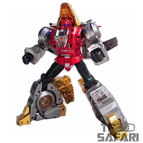 GigaPower GP HQ-02R HQ02R Grassor (Slag) Chrome Version Reissue 28cm