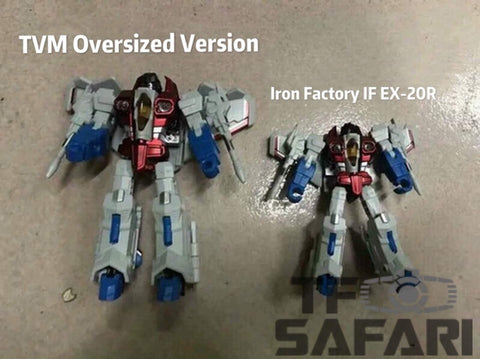 TVM Oversized IF EX-20R EX20R (Iron Factory Wing of Tyrant) Starscream 13cm