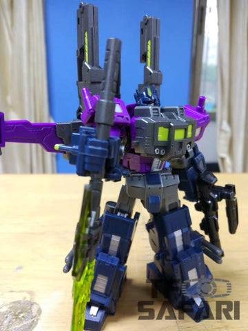 Iron Factory IF EX14M EX-14M Mirrored Commander (Shattered Glass Optimus Prime, Super Ginrai) 13cm / 5""