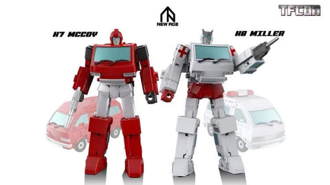 NA NewAge H8 H-8 Miller (Ratchet) New Age 8cm / 3""