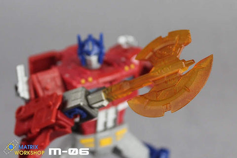 [Pre-Order]Matrix Workshop M06 WFC Siege SS-38 Optimus Prime(Voyage Grade)Energon Axe Weapon Set Upgrade Kit