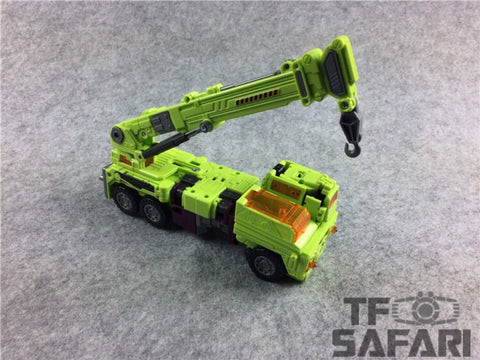 【No Original Box】NBK Devastator Green TF Engineering Full Set 6 in 1 (GT-01 Devastator) 38cm
