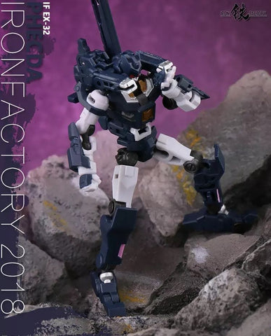 "Iron Factory IF EX-32 EX32 EX-33 EX33 Phecda & Mizar ( Vos & Kaon DJD) Spirits of The ""D.E.C""  2 in 1 set IronFactory 10cm / 4"""