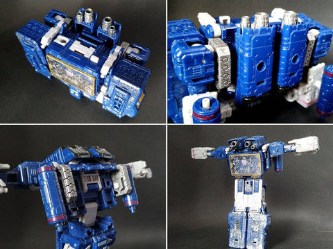 【Incoming】Shockwave Lab SL-51 SL51 Fillers for Siege Soundwave (Voyage Class) Upgrade Kit.