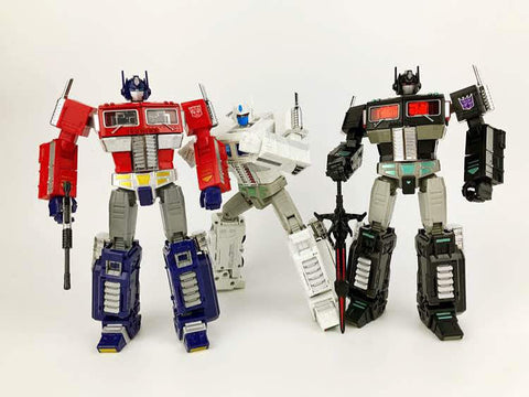 Kubianbao KBB MP-10V MP10V-W (Minified MP10 Optimus Prime)White Version 20cm /7.5""