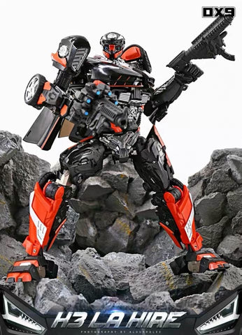 [In coming] DX9 Toys K-3 K3 La Hire (Hot Rod Rodimus) 24cm