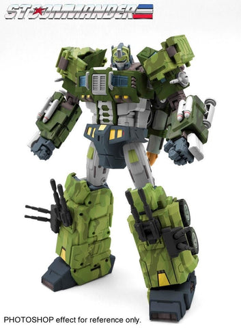 TFC Toys STC-01B  STC01B ST Supreme Tactical Commander Rolling Thunder (Optimus Prime) Jungle version 29cm / 11.5""