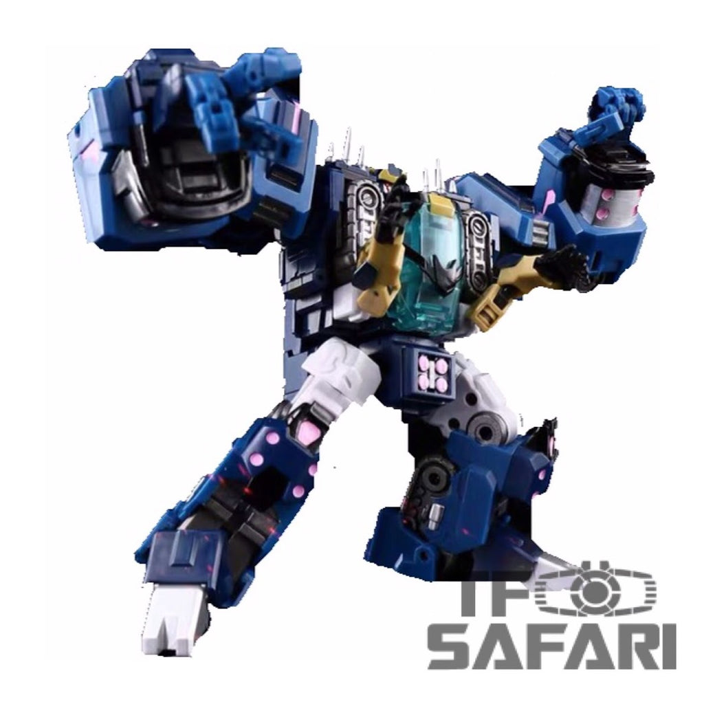 Iron Factory IF-EX34 Alkaid Spirits of the D.E.C Action Figure Transformers
