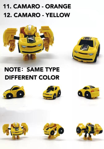 [No box] Weijiang Mini TF Hunting War Q Car (KO Takara Tommy QT Series) 16 in 1