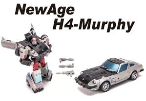NA NewAge H4 H-4 Murphy(Silverstreak) New Age 8cm / 3""