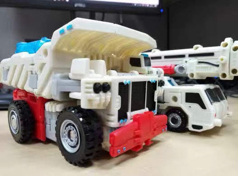 TFC Toys Perseus (White version Hercules) Devastator 6 in 1 set 35cm / 14""