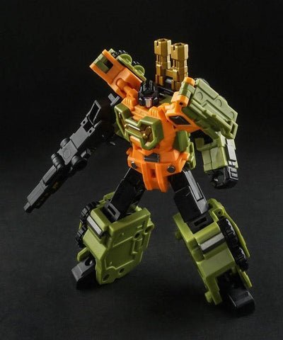 Iron Factory IF EX-24X EX24X War Giant Catastrophe ( Bruticus of TF2000 Color Scheme, 5 in 1) 28cm