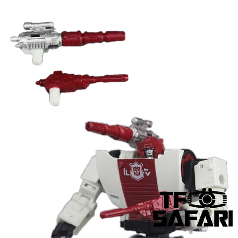 【In coming】Matrix Workshop M15 Siege Deluxe Red Alert Weapon Set Upgrade Kit