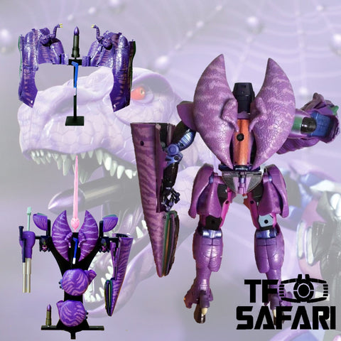 【Pre-Order】Blackarachnia Studio BAS-01 Changeable Backpack for Takara Tommy MP43 BW Beast War Megatron Upgrade Kit.