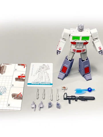 Magic Square MS-Toys MS-B18T MSB18T Light of Justice (Optimus Prime OP, Legends Class w/ trailer)Ghostbuster Version 11cm, 4.5""