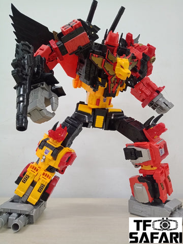 Transformers Power of the Primes POTP Predaking 5 in 1 set 【Unofficially Released Version】