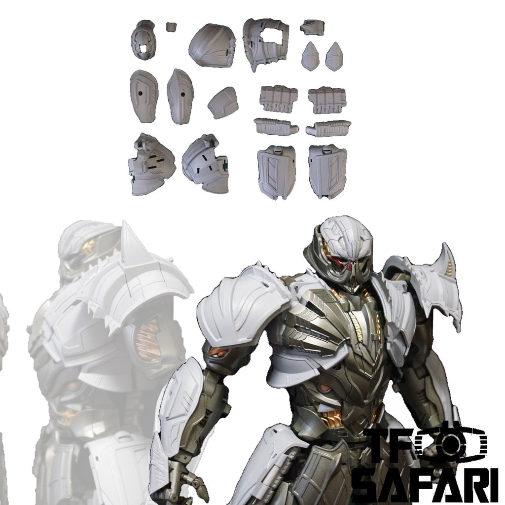 【Pre-Order】Tim Heada TH006 Armor Kit ( Garage Kit ) for Unique Toys UT R-03 R03 Ragoon (AOE / TLK Megatron) Upgrade Kit