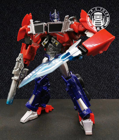 APC Toys APC-001 APC001 2.0 Version Attack Prime ( 1:1 TFP Optimus Prime Voyage Class ) Repainted Version 17cm / 6.7""