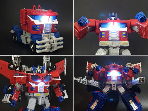 Shockwave Lab SL-55 SL55 LED Chest Light for Siege Galaxy Optimus Prime (Voyage Class COP) Upgrade Kit.