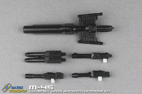 Matrix Workshop M-45 M45 Weapon Set for CW Combiner Wars Superion Upgrade Kit