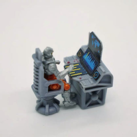 FEITE FTDC-06 & FTDC-07 Swivel Chair & Control Panel for Dia-Nauts (Diaclone Personnels ) Diaclone Upgrade Kit