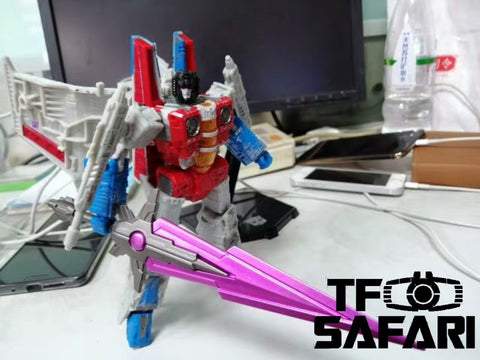 Dr.Wu DW-P38 Asura Giant Sword Purple for G1 Megatron (Siege, MP, TFP) Dr Wu Upgrade Kit