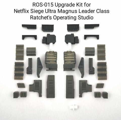 Ratchet Studio ROS-015 Gap Filler and Leg Extensions for WFC Siege Ultra Magnus (Netflix Limited Version)Upgrade Kit