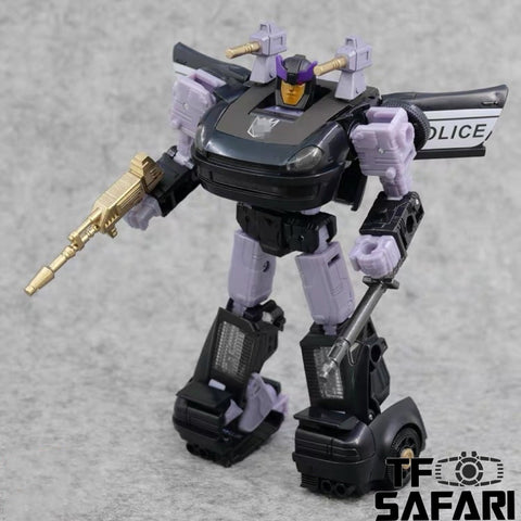 ZX Studio ZX-03D ZX03D Upgrade Kits + Weapons for WFC Earthrise Barricade Upgrade Kit (Painted)
