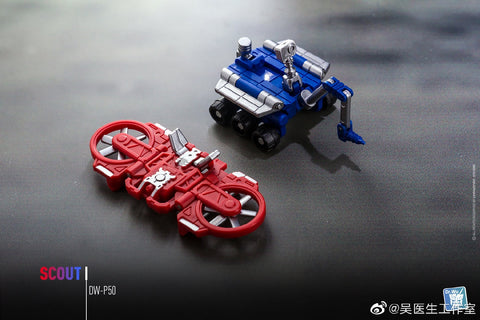 Dr.Wu DW-P50 Scout (2 in 1 Mini-Cassette Warriors) for WFC Siege Soundwave Dr Wu Upgrade Kit