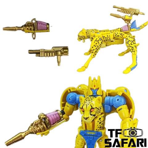 BDT Studio  BDT-09 Gut Gun & Tail Gun for WFC Kingdom Cheetor Upgrade Kit