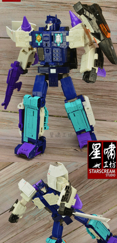 【MTO】Starscream Studio SSC09-02 Uprade Kit ( Rotatable Waist ) for Titans Return / LG60 Overlord Upgrade Kit