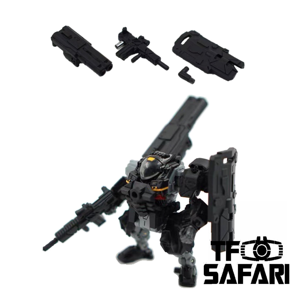 【Pre-Order】Emonster EM-01 3 in 1 Weapon set for Diaclone Power Suit Diaclone Upgrade Kit