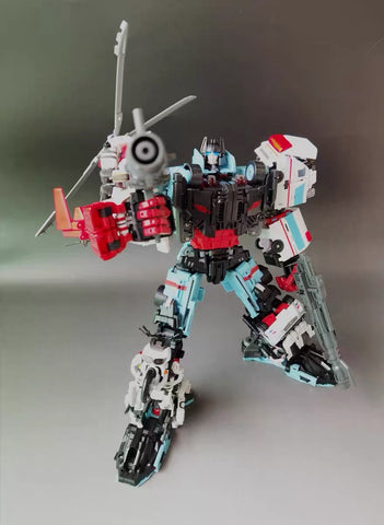 Yes Model Combiner Defensor (Oversized MTCM Guardia ) Full Set 5 in 1