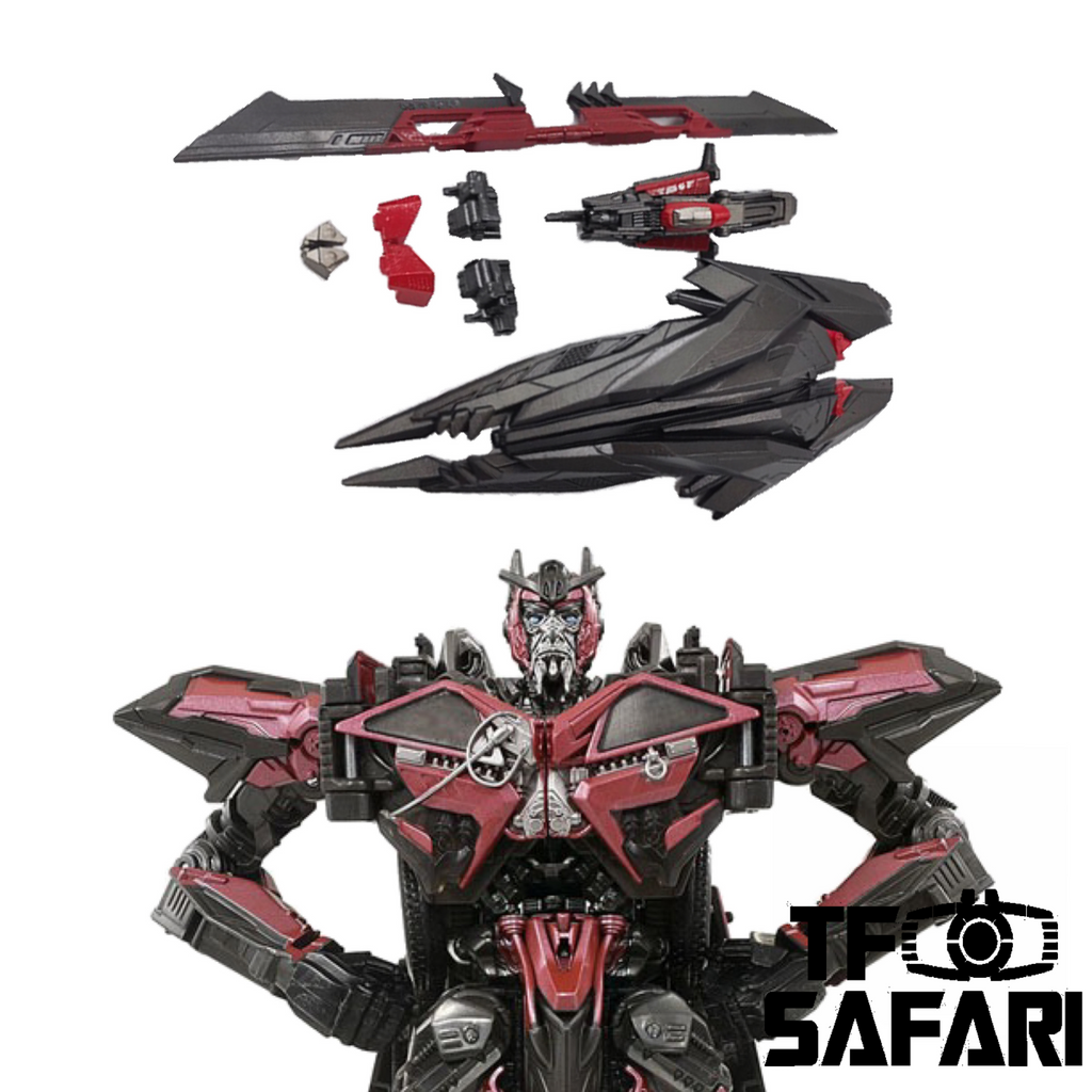 【Pre-Order】115 Workshop YYW-09 YYW09 Upgrade Kit for Studio Series SS61 Sentinel Prime Upgrade Kit