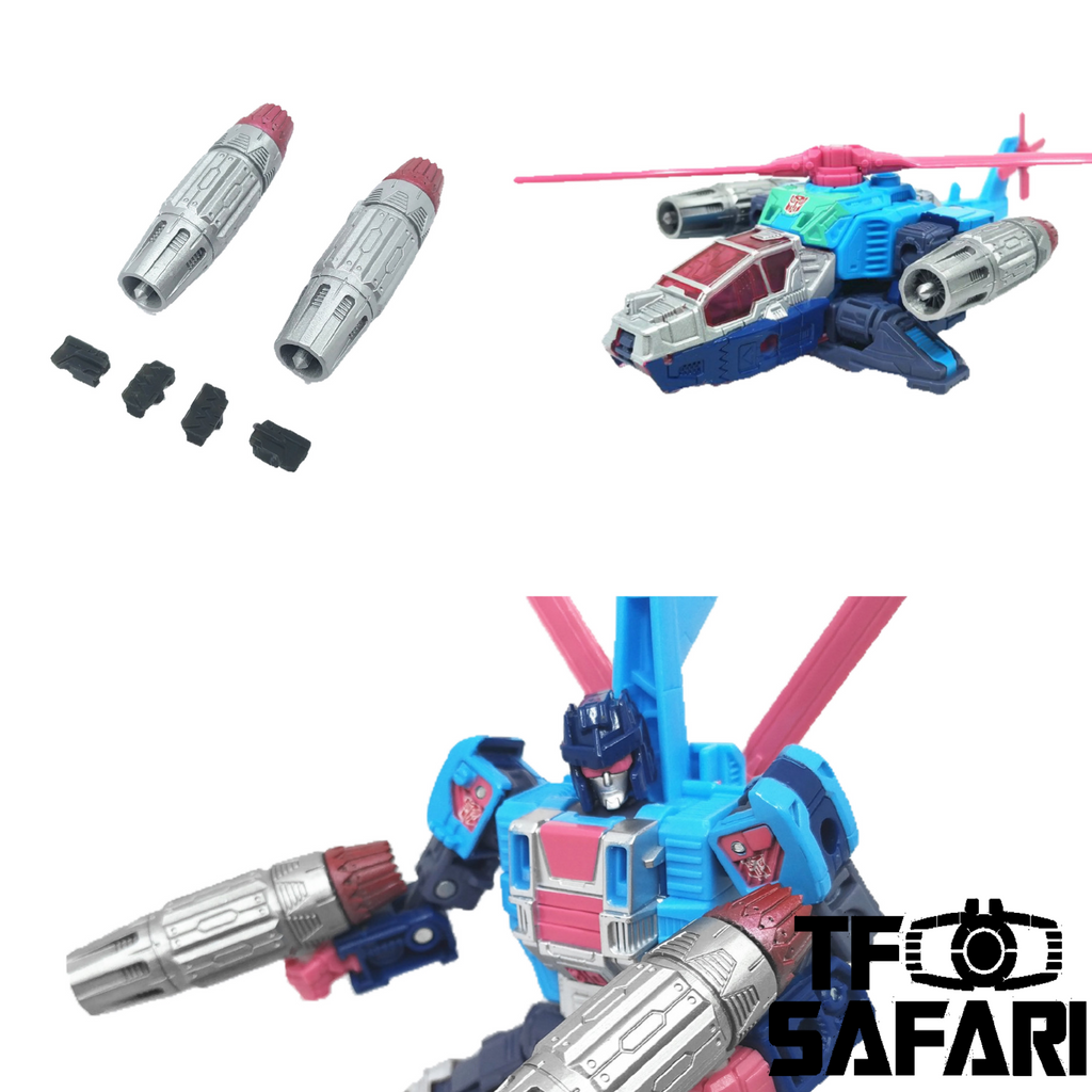 Shockwave Lab SL-83 SL83 Weapons for WFC Earthrise GS19 Rotorstorm Upgrade Kit