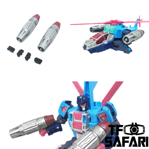 【Incoming】Shockwave Lab SL-83 SL83 Weapons for WFC Earthrise GS19 Rotorstorm Upgrade Kit