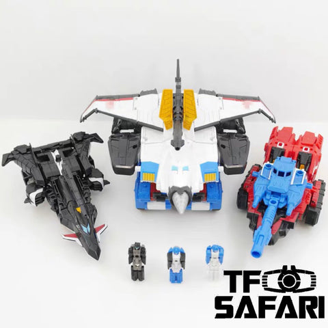 Takara Tomy Transformers Legends LGEX Big Powered Exclusive (3 in 1 set)