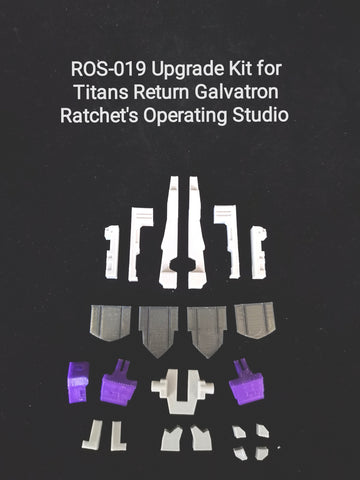Ratchet Studio ROS-019 ROS019 Gap Fillers for Titans Return Galvatron Upgrade Kit