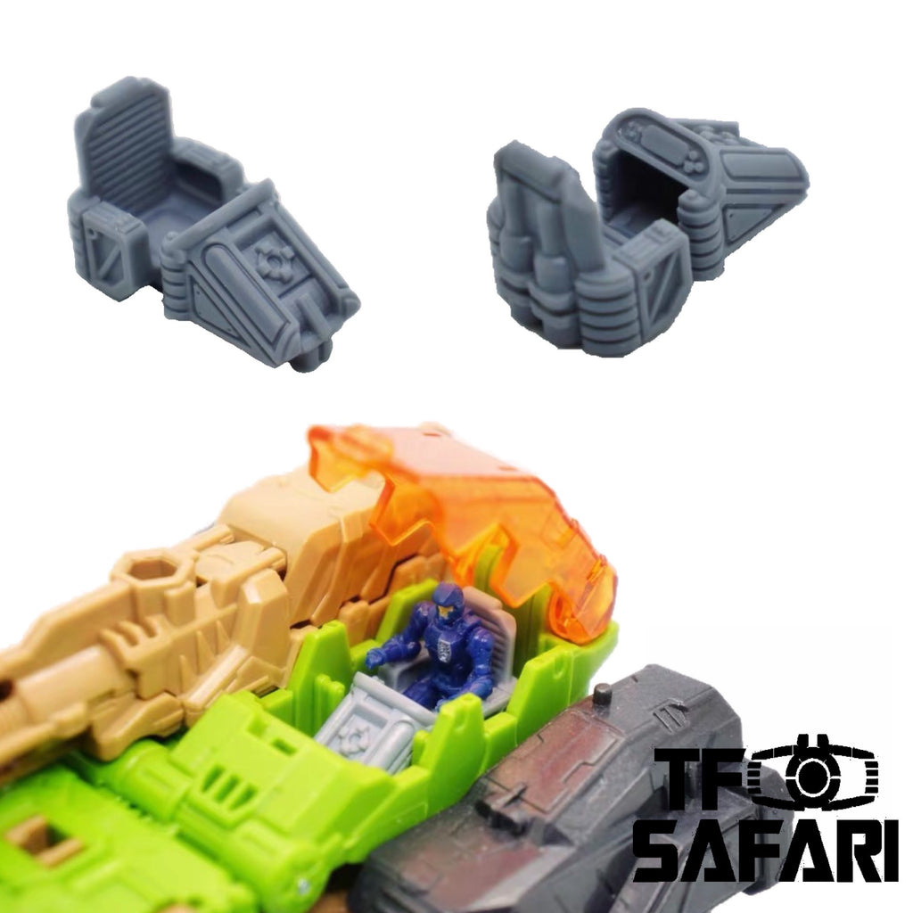 FEITE FTDC-08 Cockpit in Headmaster Vehicles for Dia-Nauts (Diaclone Personnels ) Diaclone Upgrade Kit