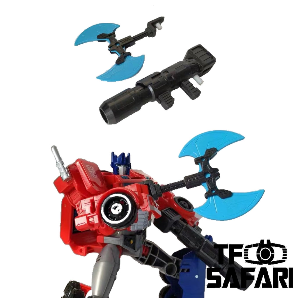 Shockwave Lab SL-60 SL60 Weapon set for Cyberverse Ultimate Class Optimus Prime Upgrade Kit.
