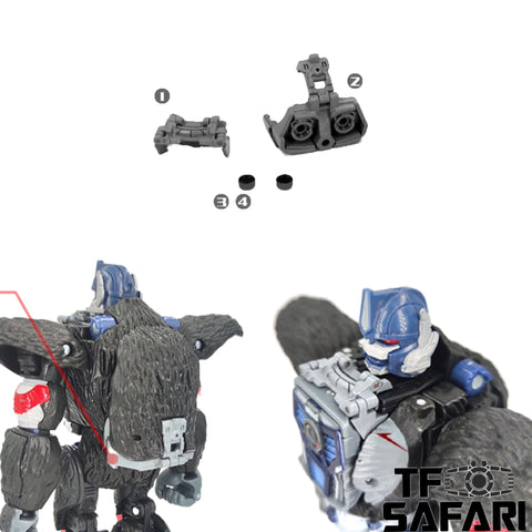 【Incoming】Go Better Studio GX-20 GX20 Chest Filler and Jet Pack for WFC Kingdom Optimus Primal Upgrade Kit