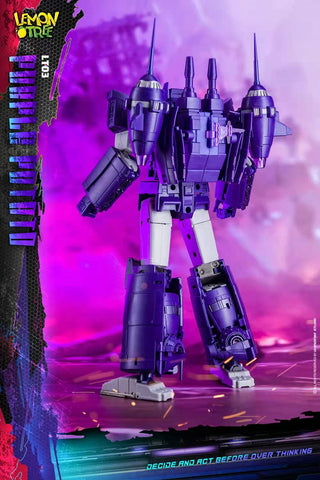 Lemontree Toys  LT-03 LT03 Purple Potato (Shockwave) Starship 22cm / 8.7""