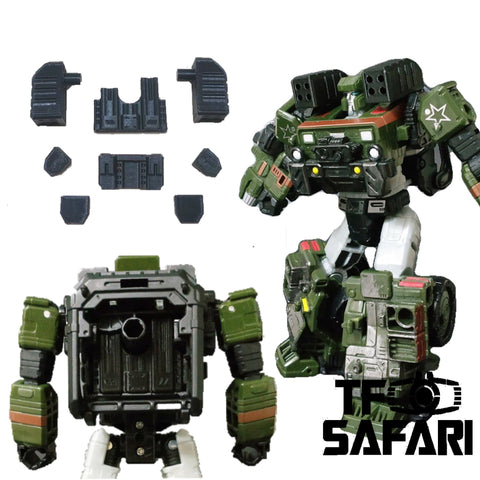 Ratchet Studio ROS-006 Gap Fillers & Shoulder Rocket Launcher for WFC Siege Hound ( Hot Shot ) Upgrade Kit