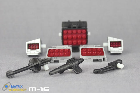 Matrix Workshop M16 M-16 Upgrade Kit for Siege Refraktors Upgrade Kit