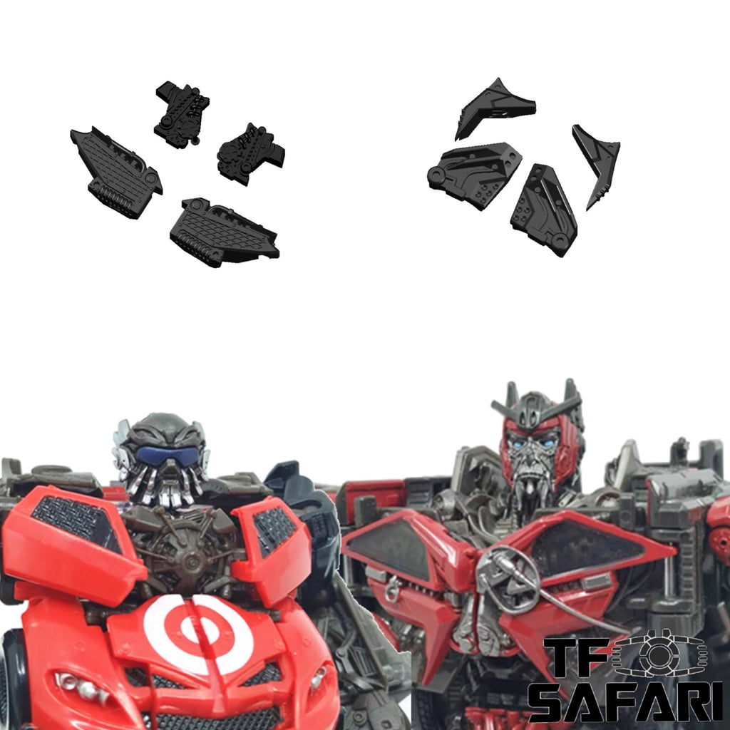 Shockwave Lab SL-GF19 SL-GF20  Gap Fillers for Studio Series SS68 Deluxe Class Leadfoot & SS61 Voyager Class Sentinel Prime Upgrade Kit