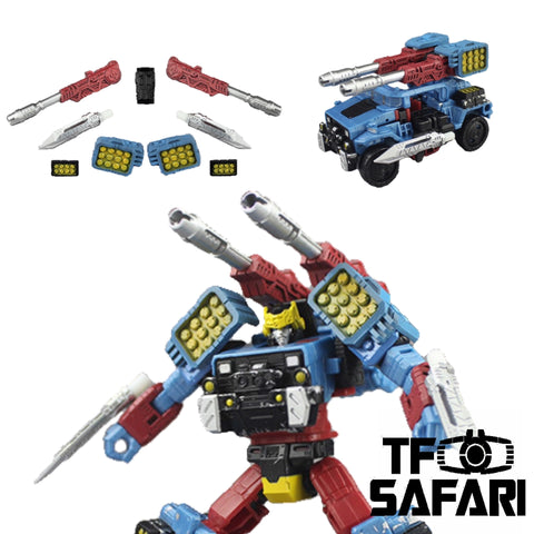 【Incoming】Matrix Workshop M25 M-25 for WFC Siege Hot Shot Weapon Set Upgrade Kit